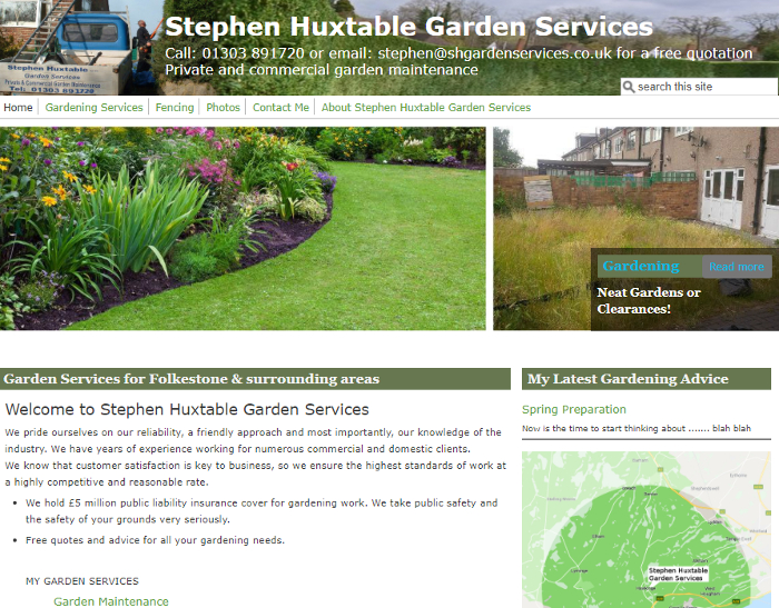Stephen Huxtable Garden Services